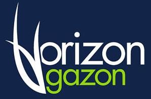 logo horizon gazon crop - tonte de gazon sainte-therese