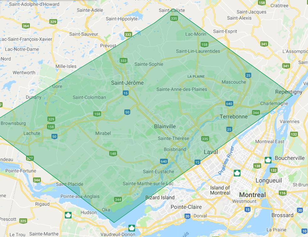 Entrepreneur Paysagiste Laval Rive Nord de Montréal - Accueil